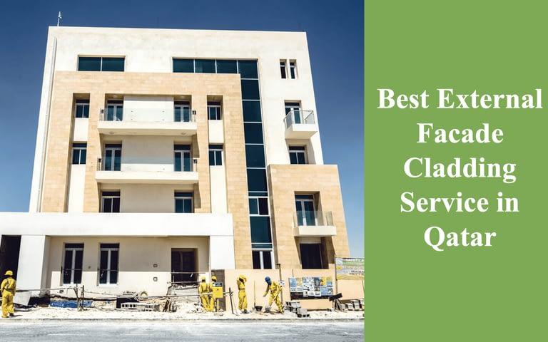 Best External Facade Cladding Service in Qatar